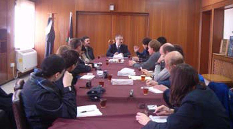 Zajel Hosts an American Academic Delegation