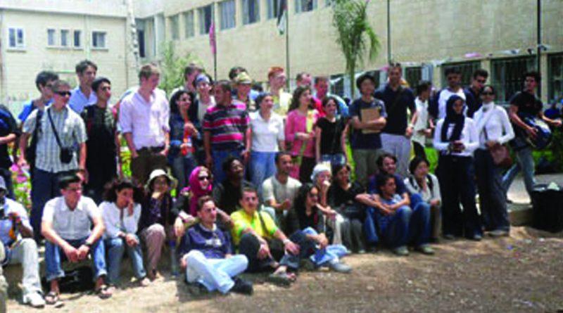 Zajel Organizes Study Visit of Birzeit University's International Workcamp
