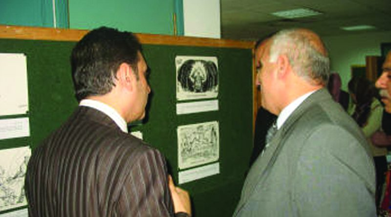 Zajel Organizes an Exhibition on the Image of Hezbollah in the American Cartoons