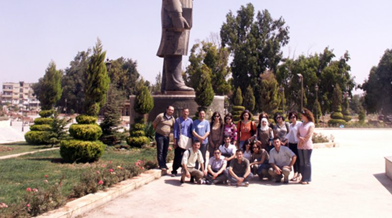 Zajel Visits Syria, Tours its Universities, Institutions and Cities