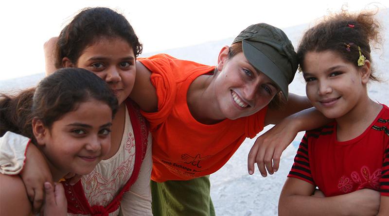 Reflections of the Children of New Askar Refugee – Workcamp, 2009
