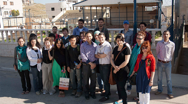 انطباعات المتطوعين الدوليين المشاركين في المخيم التطوعي الدولي الثاني عشر 2011