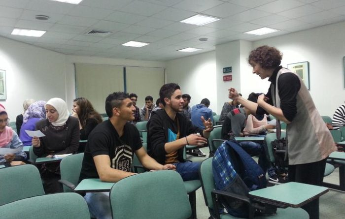 Zajel holds Two Workshops on Humor and English Proverbs