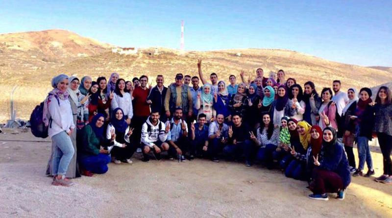 Zajel Organizes a Cultural Trip to the Syrian Golan
