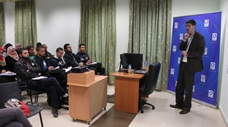 Organizing a Workshop at An-Najah on the Management, Training and Development of Human Resources
