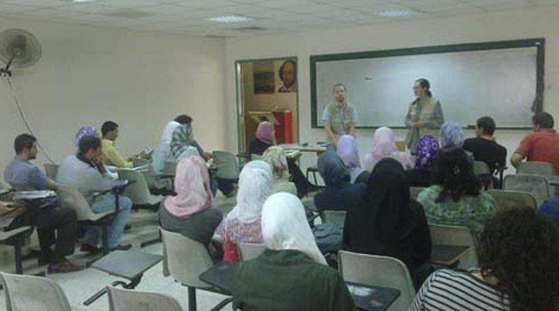 The International Youth Exchange Program Zajel Organizes a Training Course on Discourse Skills