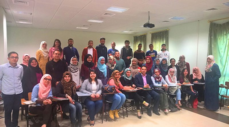 Zajel Concludes Four Training Programs for An-Najah's Students