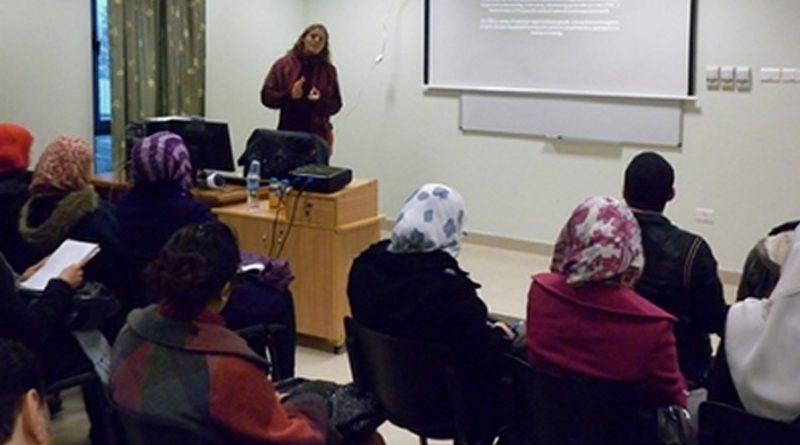 Presentation Organized at An-Najah about the International Social Service Organization