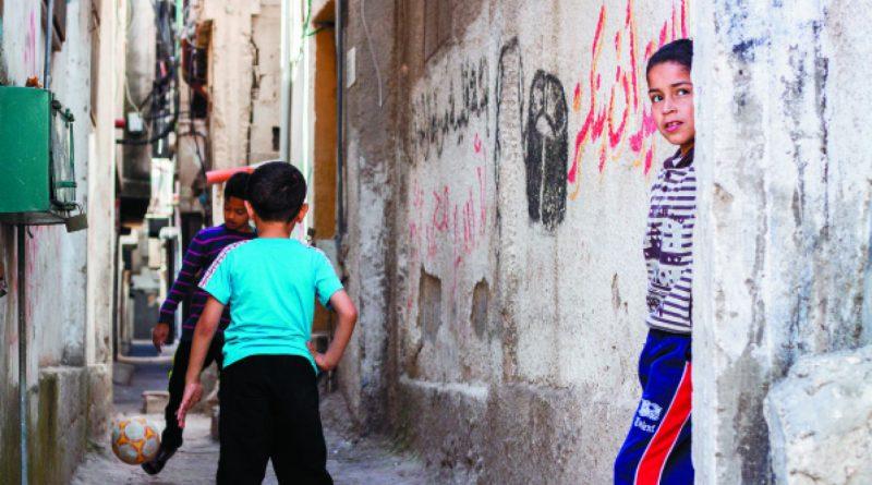 PAS Program Visits the University, the City of Nablus and Balata Refugee camp