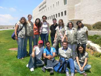 Zajel Hosts an American Student Delegation
