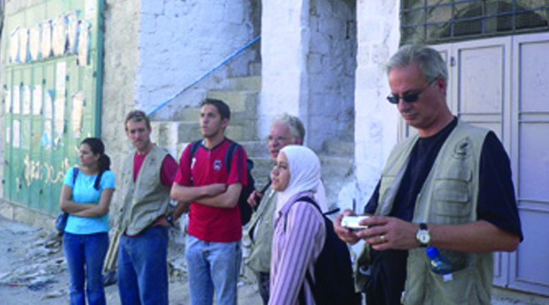 Canadian Delegation Participates in Round-Table Discussion with the Faculty, visits the Old City and its Refugee Camp
