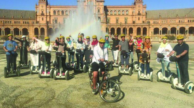 Zajel Organizes a Graduation Ceremony at Alhambra Palace in Granada
