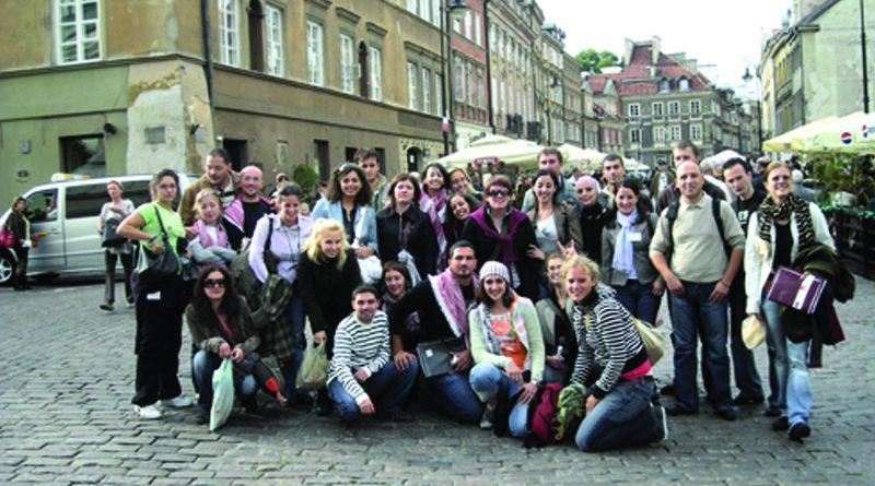 تحت رعاية الاتحاد الاوروبي واليونسكو , زاجل يشارك في ورش المنتدى العربي الاوروبي في بولندا