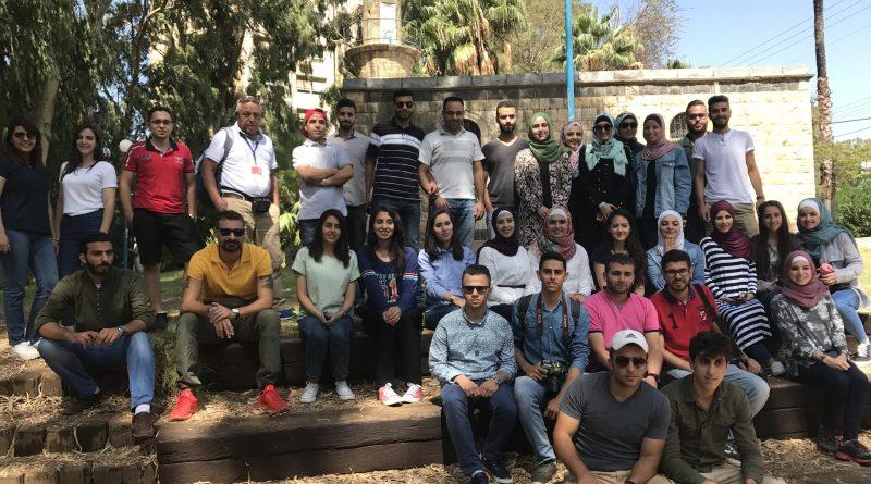 زاجل ينظم رحلة الى مصب نهر الدان بالجليل الاعلى