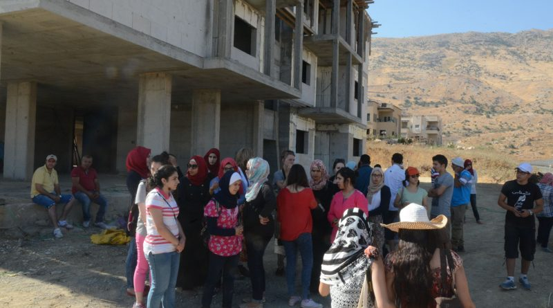 The students that I met in Palestine were really motivated to study