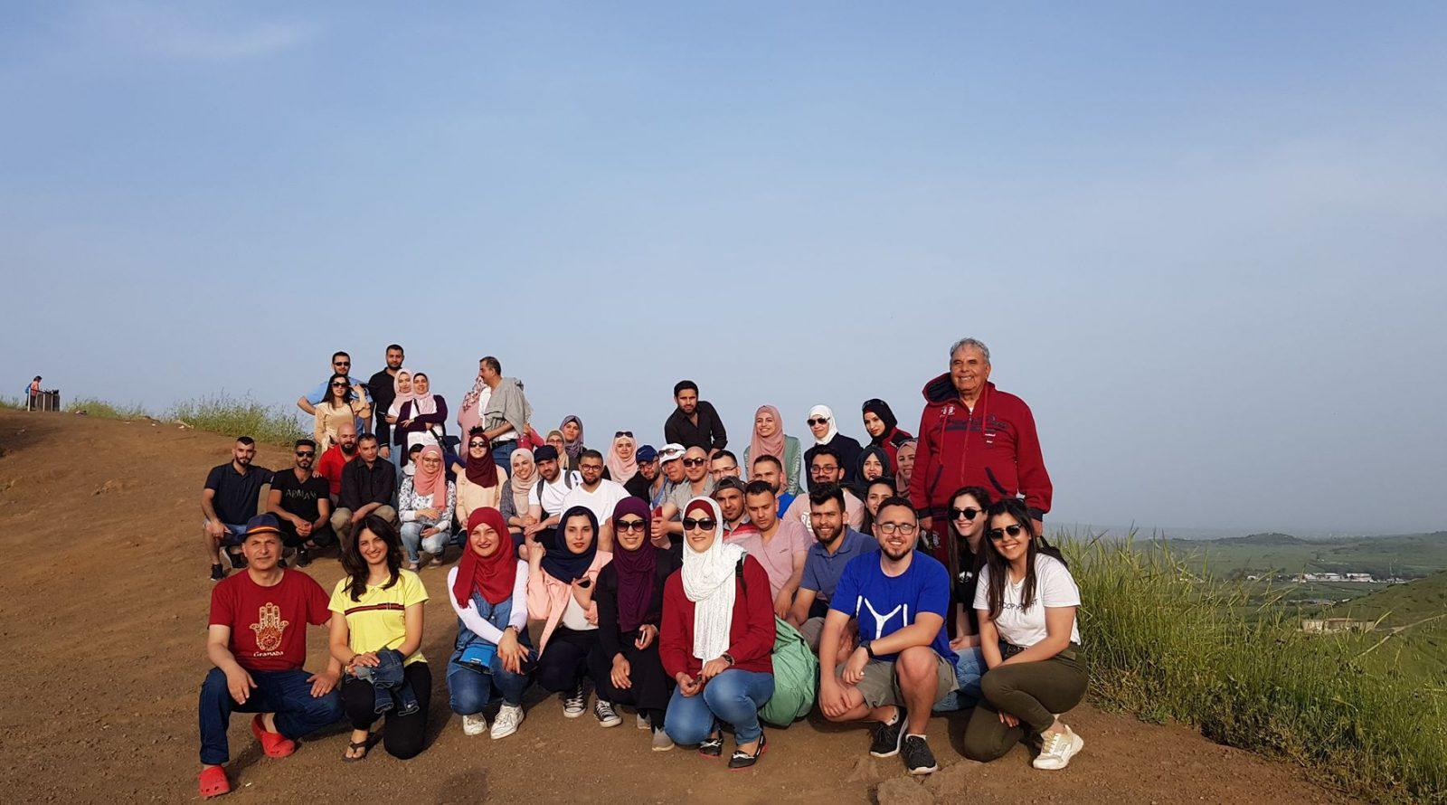 برنامج زاجل ينظم رحلة الى هضبة الجولان